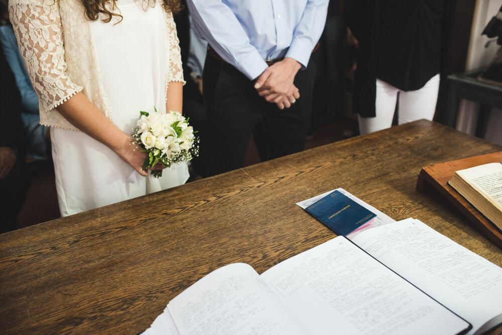 civil de boda en balcarce por nostra fotografia