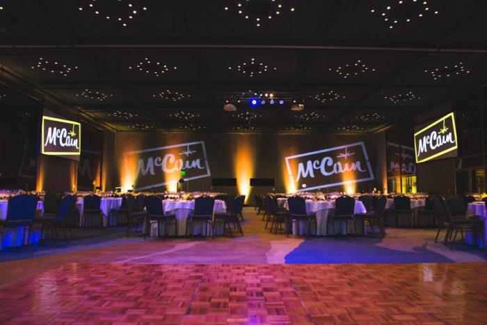 evento empresarial Hotel Costa galana para empresa mc cain por nostra fotografia